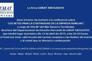 INVITACION GENERAL LEMAT