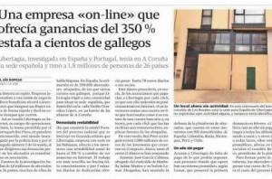 La Voz de GaliciaLibertagia