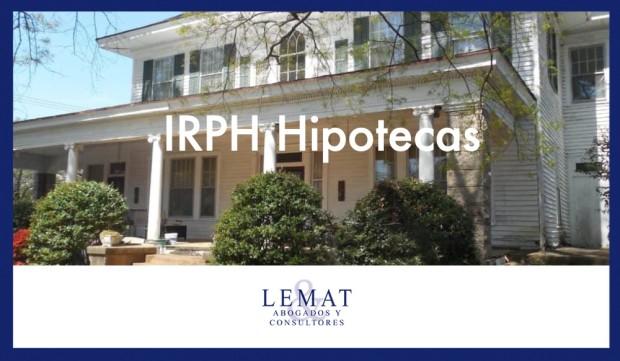 IRPH en los préstamos hipotecarios