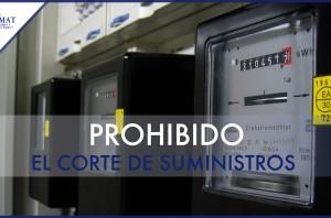Garantía de mantenimiento en el suministro durante el Estado de Alarma