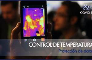 Controles de temperatura y protección de datos - COVID-19