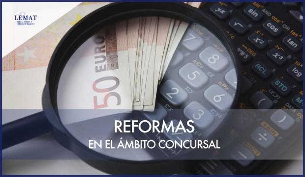 Reformas en el ámbito concursal - Decreto-Ley 16/20