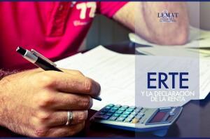 ERTE y la declaración de la renta