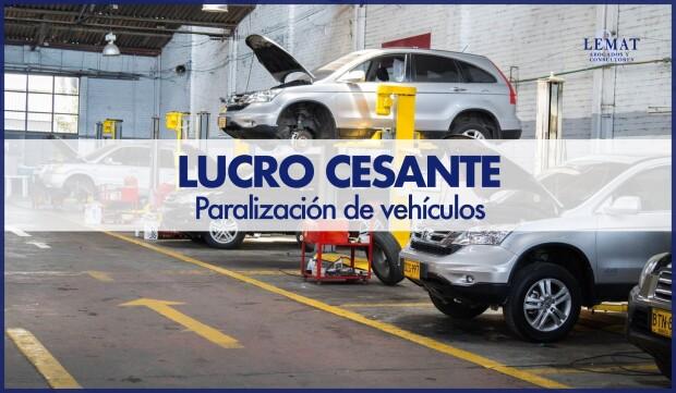 Reclamación por paralización de vehículos