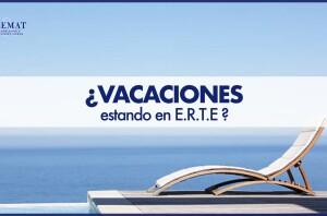¿Tengo derecho a vacaciones estando en ERTE?
