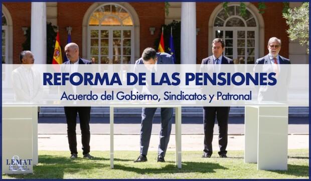 Gobierno, Sindicatos y Patronal llegan a un acuerdo para reformar las pensiones